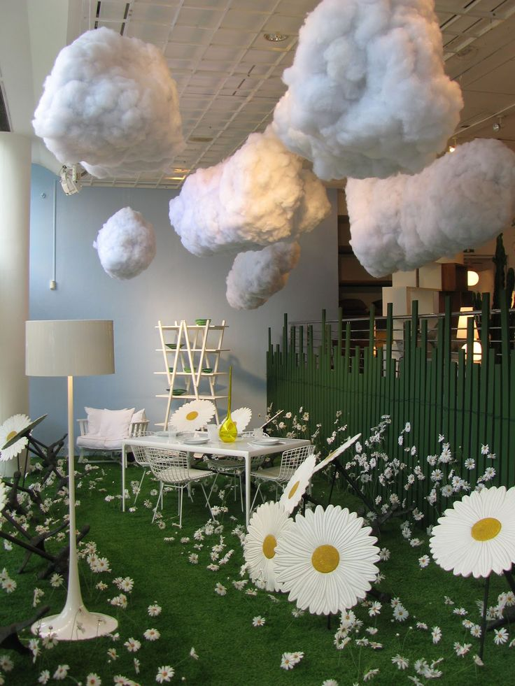 conran-shop; Puffy clouds! I really want some kind of cloud. It would be so cool.