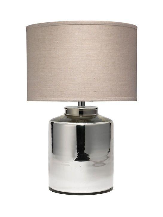 Vigo, silver table lamp by Anne Selke.