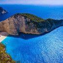 【ギリシャ】ジブリ「紅の豚」の舞台になったナヴァイオビーチ