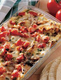 Healthy Mexican Lasagna: Mexicans Lasagna, Mexicans Lasagne, Recipes Finder, Mexicans Chicken, Corn Tortillas, Healthy Recipes, Healthy Mexicans Meals, Low Calories Mexicans Recipes, Chicken Lasagna