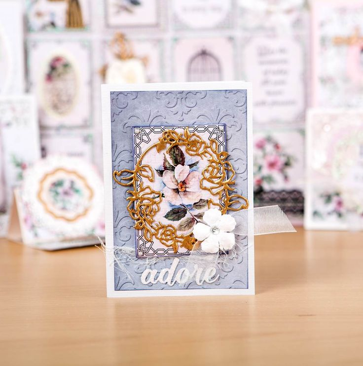 See the World Launch of the Trimcraft Magnolia Lane Collection from Crafting Showcase at the CHA Show, Sat 9th Jan @ 4pm on C&C!   / cardmaking / scrapbooking / papercraft / craft