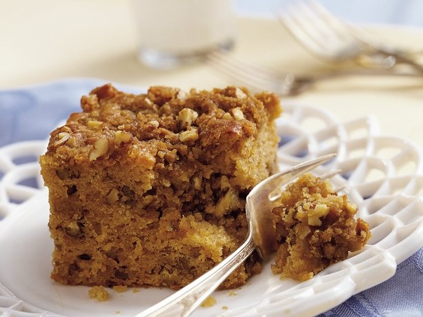 Maple-Nut Streusel Coffee Cake