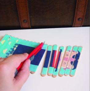 Puzzle avec des bâtonnets de glace tuto DIY jeu enfant - Enfants 2-12 ans - Pure…