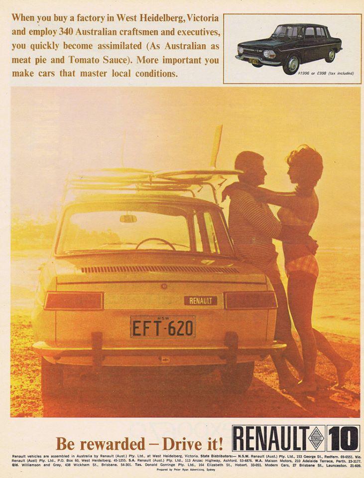 14 best Renault 10 images on Pinterest   Antique cars, Old school ...