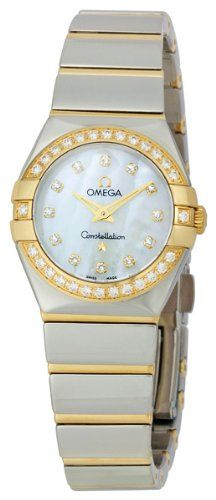 Omega Women's 123.25.24.60.55.007 Constellation '09 Diamond Bezel Watch
