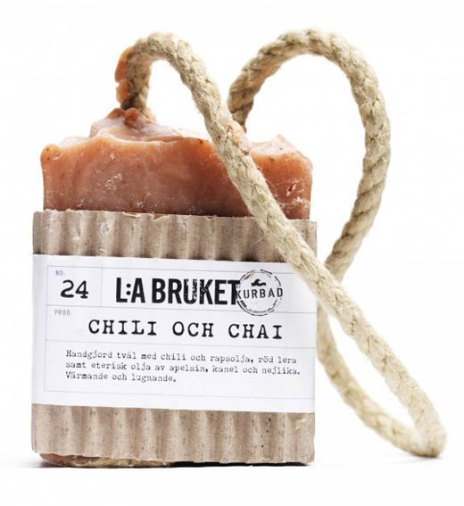 Handmade soaps and spa products from L:a Bruket, Varberg, Sweden. Theingredients and raw materials are almost all certified ecological.