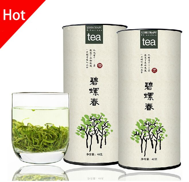 Зеленый чай, высококачественный чай Biluochun свежий естественный оригинальный зеленый чай высокий рентабельный дракон кунг-фу хороший зеленый чай