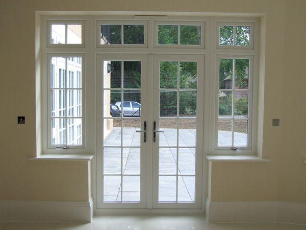 PVC-U French doors from Carshalton, Woldingham and Surrey - Elwyns Windows