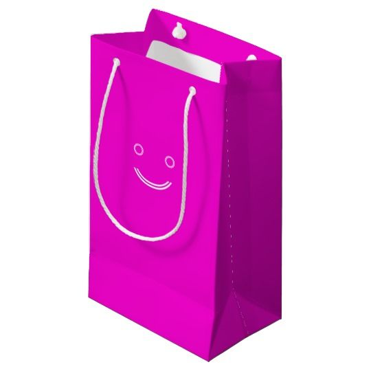 #zazzle #girl  #woman #gift  #giftidea  #Tote #Bag #Pink #Smiley