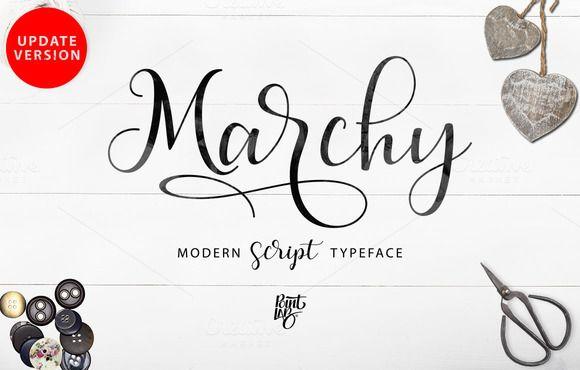 Marchy Script_UPDATE VERSION by pointlab on @creativemarket