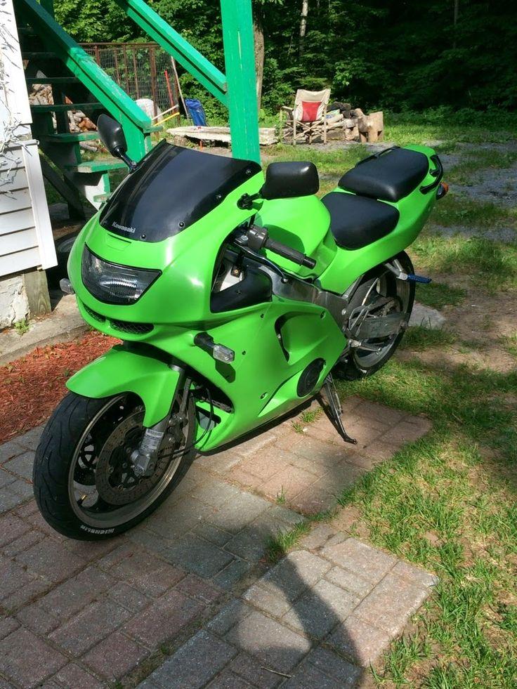 66 auto color: motorcycle paint - kawasaki lime green ninja paint