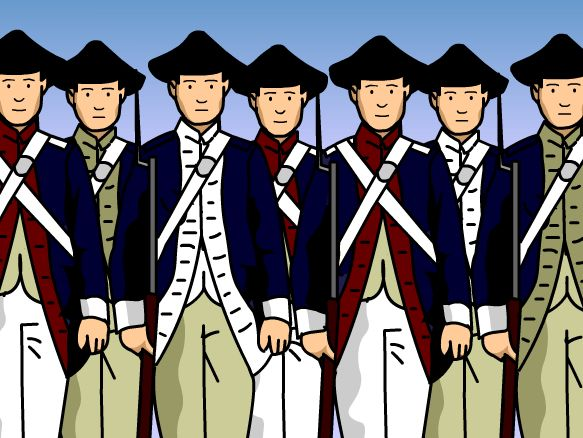 This BrainPOP movie teaches the basics of the American Revolutionary War! Learn what began the Revolution, some major points during the war, and a victory for the colonists that was a turning point. Finally, find out how and when the war ended, and what George Washington had to do with it all. They don't call him the father of his country for nothing!