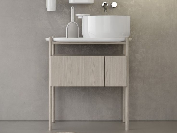 Photo On UKIYO E Vanity unit by Olympia Ceramica