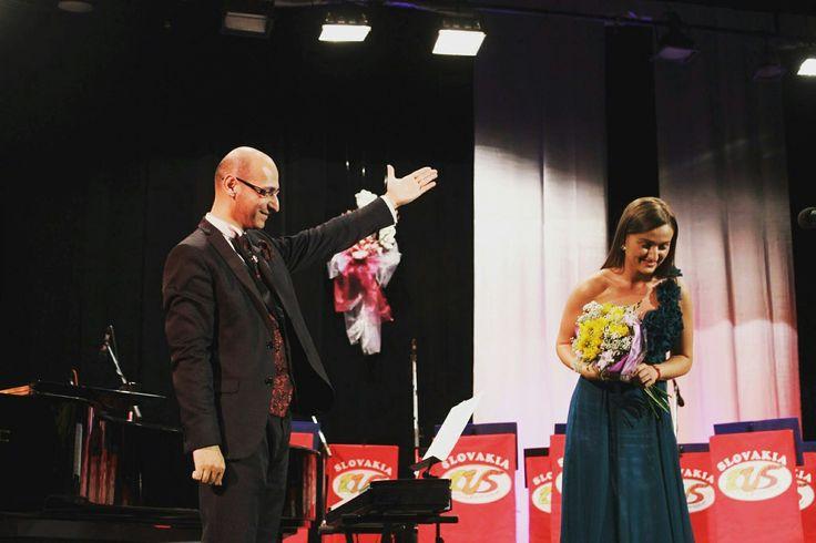 Tatiana Hajzusova and Richard Rikkon