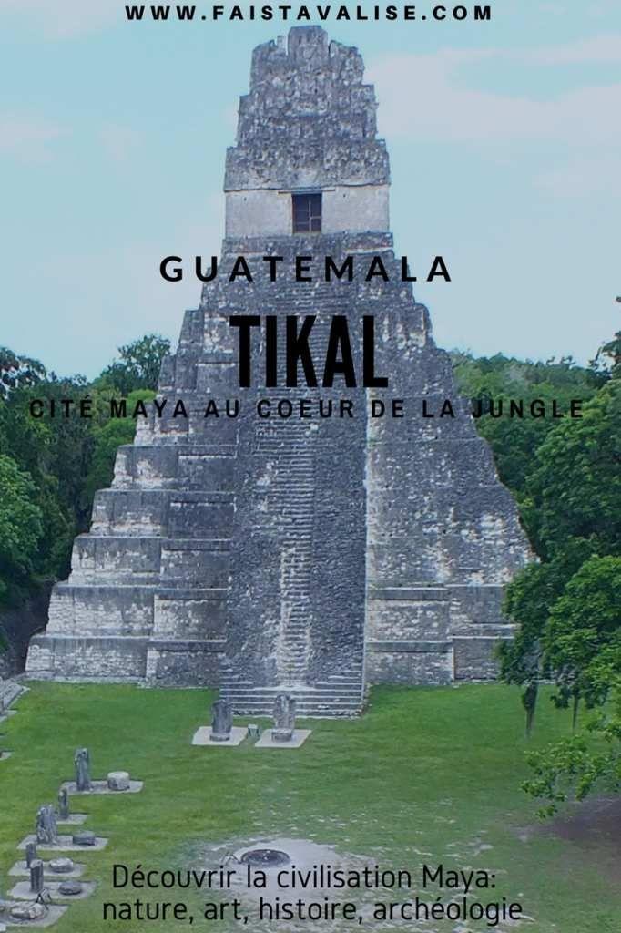 Vous aimez l'histoire, l'archéologie et la nature ? Tikal, cette incroyable cité Maya en plein coeur de la jungle devrait vous plaire ! Prêt pour une visite ? Tikal Localisation, accès & hébergement Où se situe Tikal ? La cité Maya de Tikal est située...