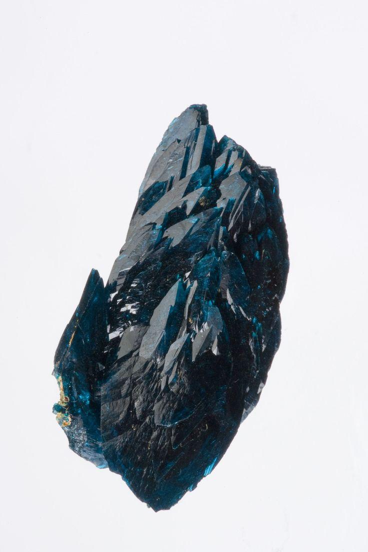 Veszelyite (huge crystals) - $ 20000 SOLD  Black Pine Mine, Philipsburg District, Granite Co., Montana, USA  thumbnail, 3.1 x 1.6 x 11 cm