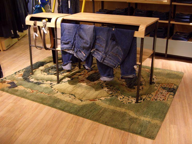 Sartori rug for Diesel store - Milano