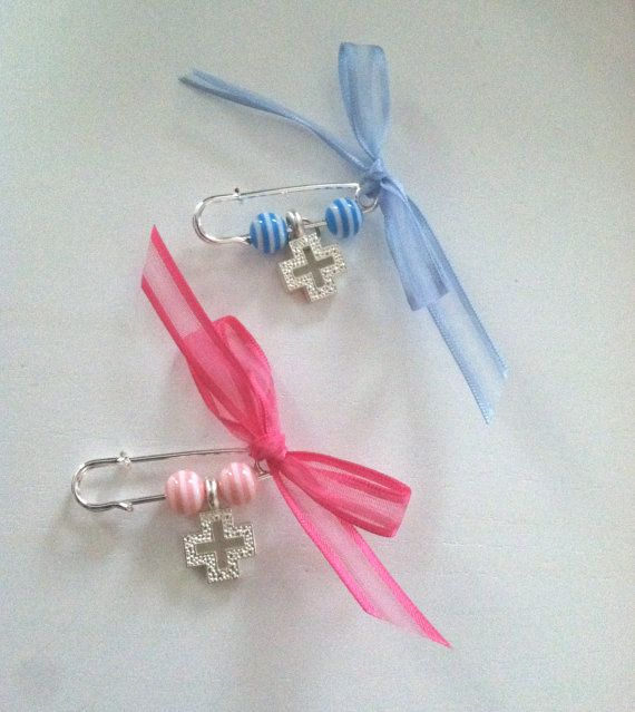 Baptism Witness Pins / Martyrika Safety Pin by MyLittleDetailsShop, $21.00