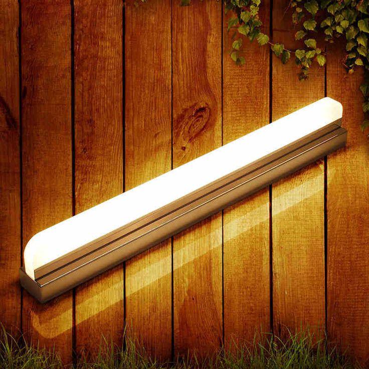 SinFull Minimalist modern bathroom led mirror lights Acrylic led dressroom LED mirror lamp 90-260V sconces wall lighting