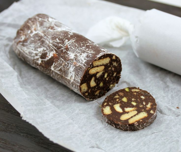 Salame De Chocolate (Portuguese Chocolate Salami) - Easy Portuguese Recipes