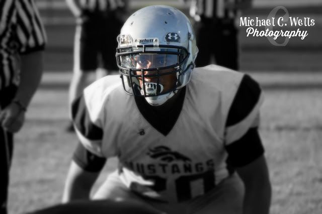 Michael C. Wells Photography: Moore High School Football Scrimmage
