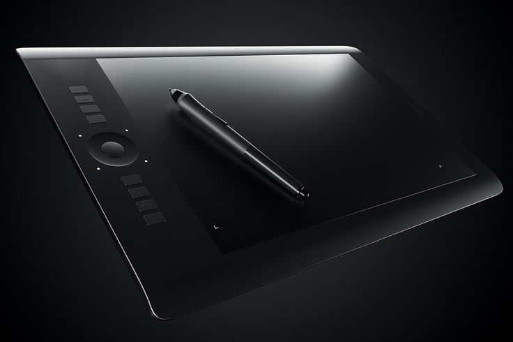 Wacom intuos Pro CGI on Behance