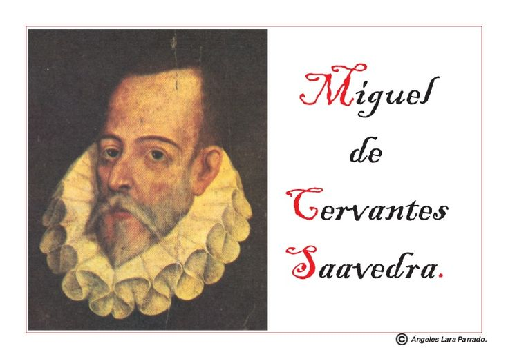 Biografía de Miguel de Cervantes para niños
