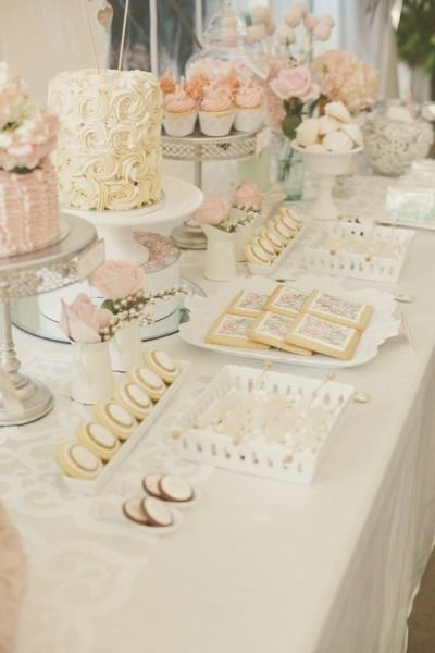 A pretty sweet table for sweets...