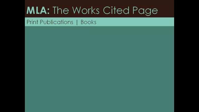 """mla formatting for books I answered this question by googling and then using my favorite site, owl at  purdue: """"a review to cite a review, include the title of the review (if."""