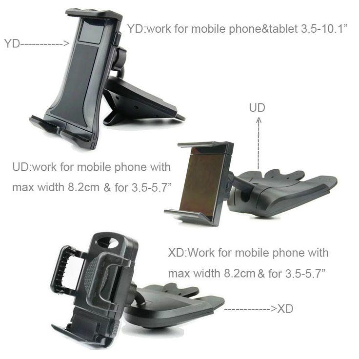 GPS Планшеты мобильного телефона Автомобиль CD-плеер слот крепление Колыбели держатели Подставки для Xiaomi Redmi 4X OPPO F3 плюс micromax двойного 5