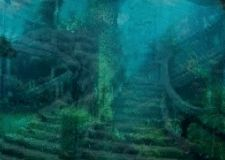 Grand Staircase ~ Titanic under water