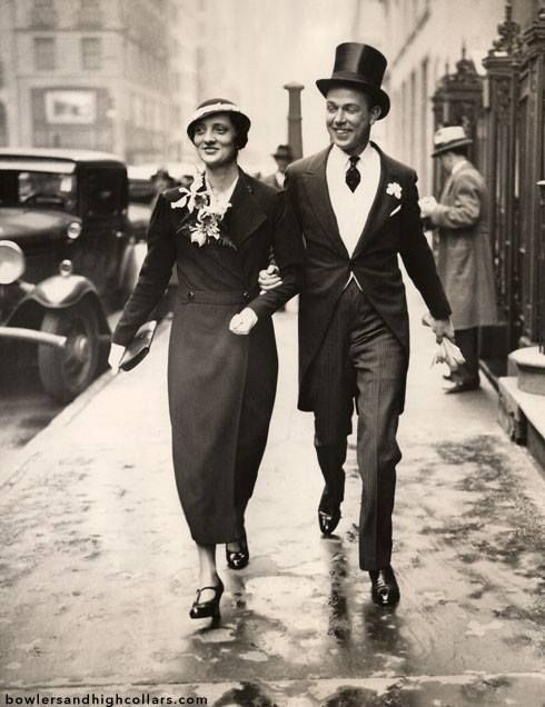 Easter Parade - Evelyn and George Steele on 5th Ave -1933