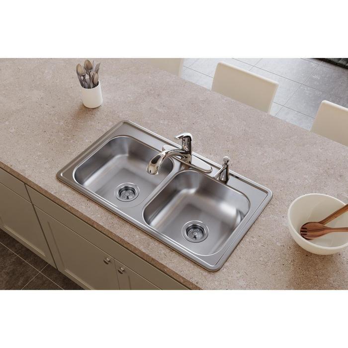 33x19 Drop In Kuchenspule Einzelschussel 33x19 Drop Einzelschussel Kuchenspule In 2020 Stainless Steel Kitchen Sink Stainless Steel Kitchen Drop In Kitchen Sink