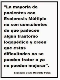 Logopedia y Esclerosis Múltiple. Primera parte #salud http://blgs.co/wA4J7c