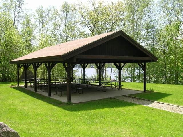 Wood Picnic Shelter : Picnic pavilions boulder beach pavilion vermont