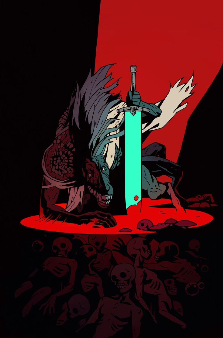Ludwig The Holy Blade art Bloodborne