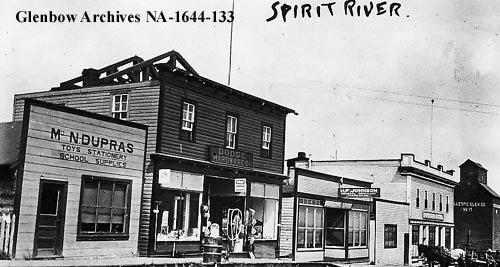 Main Street, Spirit River, 1923