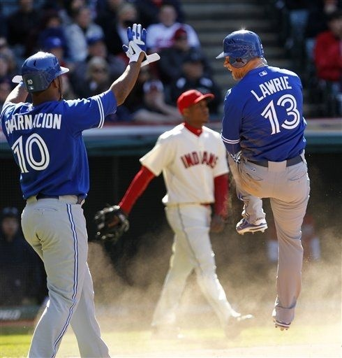 Game #2, 4/7/12, Blue Jays win 7-4 after going to extra innings again!
