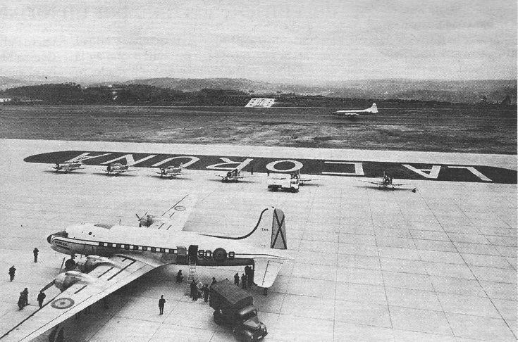 Alberto Martí | La Voz de Galicia As forzas aéreas españolas tiveron un destacado papel na inauguración do aeroporto coruñés de Alvedro, ...