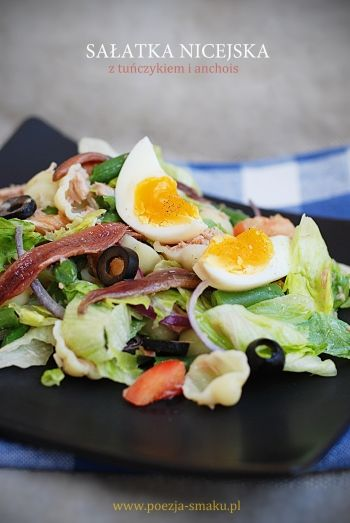 Sałatka nicejska (Nicoise Salad - recipe in Polish)