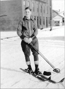 Otto Laderach C. 1930. Peterborough was not only the home of quality ski production, it was the home of some quality skiers. Peterborough skiing legend Otto Laderach was one of a group of young people who brought passion and daring to the sport as early as 1926, a time when ski clubs were starting to become more popular and established.