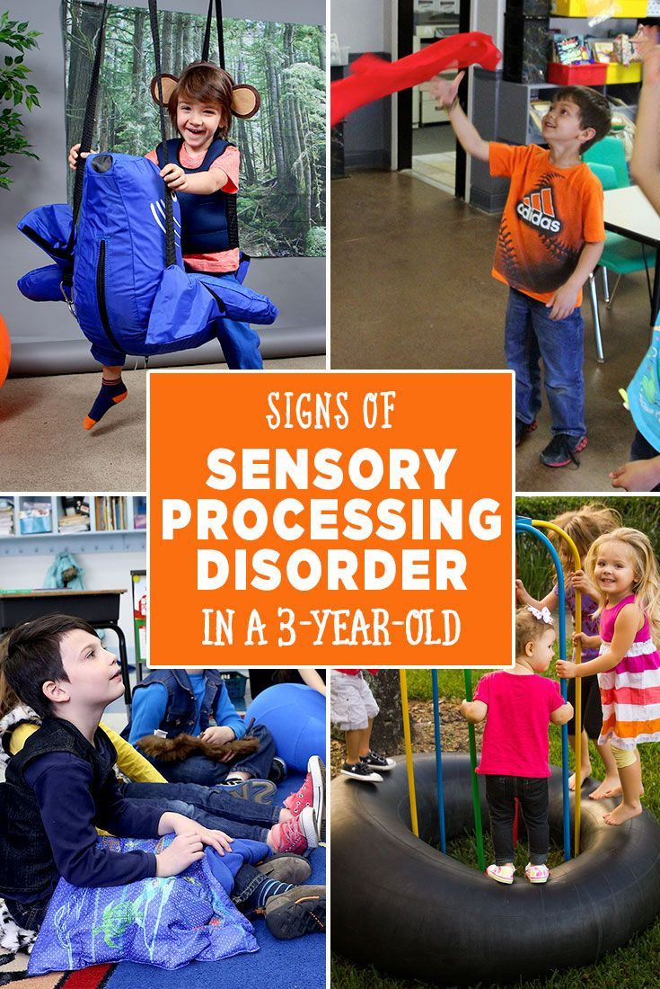 Signs of Sensory Processing Disorder in a 3-Year-Old. Explanations of Sensory Over/Under Responder and Sensory Seeking behaviors.
