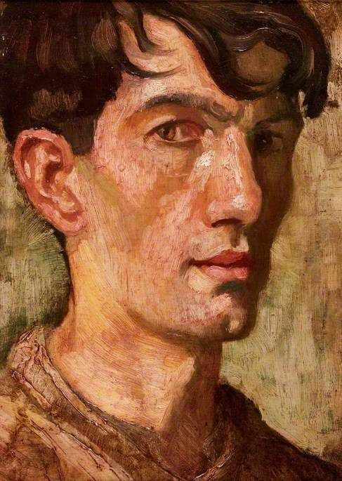 Self Portrait - Norman Stansfield Cornish - The Artist as a Young Man