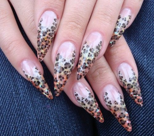 nice round nail designs | 25 Beautiful Acrylic Nail Art Designs |  TutorialChip - 90 Best Cute Nail Designs Images On Pinterest Nail Scissors