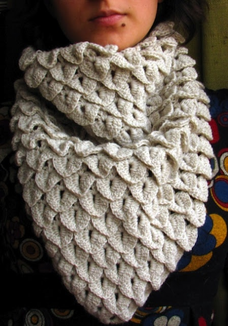 Crochet Crocodile Stitch - Tutorial