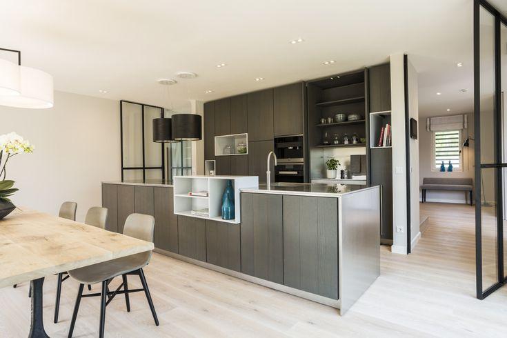 die besten 25 offene k che kochinsel ideen auf pinterest. Black Bedroom Furniture Sets. Home Design Ideas
