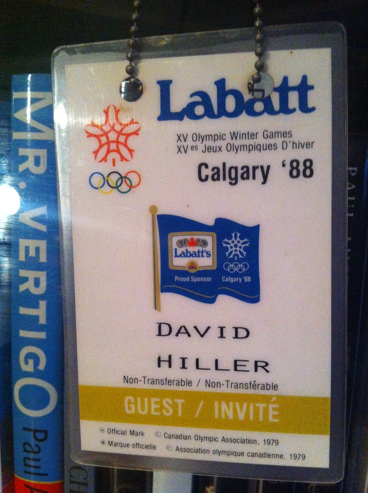 Love Road Trips - 1988 Calgary Winter Olympics - ( Sponsored by Labatt - beer!)