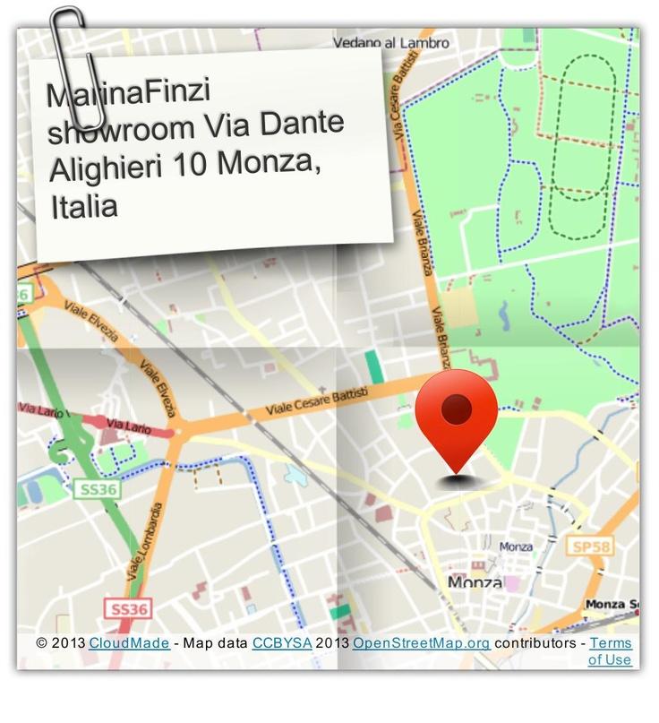 Our official showroom of unique italian fashion accessories. Via Dante 10, Monza , Italia
