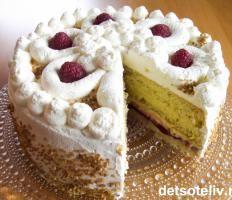 Bløtkaker | Det søte liv, Georgine cake
