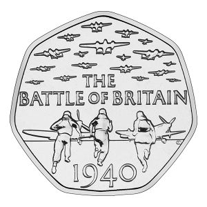 The 2015 50p issued to commemorate the 75th anniversary of the Battle of Britain has quickly earnt recognition in the collecting world. Not only has the design by sculptor Gary Breeze enjoyed a pos…